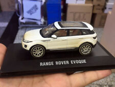 1/43 Scale Die-Cast Model Car, Range Rover Evoque white 2011 Especial