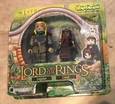 Lord of the Rings Art Asylum Minimates NEW box 2 Mini Figures Legolas Gimli