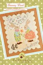 Quilt Pattern ~ BUNNY DUET ~ by Fig Tree Quilt Designs