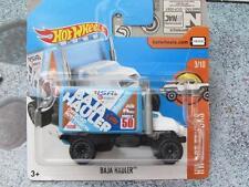 Hot Wheels 2017 #179/365 BAJA CAMION bleu blanc HW chaud Camions Nouveau Fonte