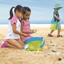 Mesh Bag Foldable Beach Mesh Bag Children Toys Storage Bag Shell Collection