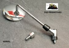 RETROVISEUR MOTO ROND CHROME 8/10MM MIR001 APRILIA