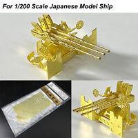 1*Anti-aircraft Gun Triple Barrel Ship Model for 1/200 Scale Japanese Model Ship
