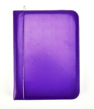 Purple A4 Deluxe Business Conference Ring Binder Portfolio CL-731PE