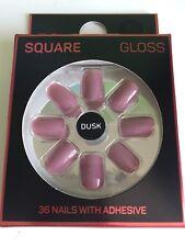Dusk False Nails