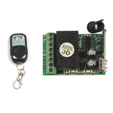 12V 2CH Wireless Remote Control Relay Switch Transmitter Receiver Module Board