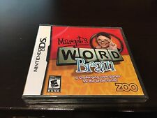 Margot's Word Brain for Nintendo DS Brand New! Fast Shipping!