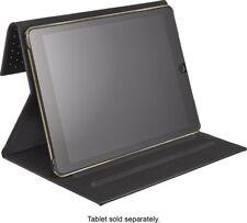 Genuine Christian Siriano iPad Air 2 Folio Case Gold-Studded Designer View Stand