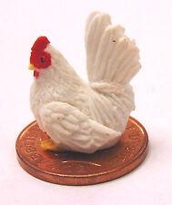 1:12 Scale Hand Made & Painted Chicken Tumdee Dolls House Miniature Garden Apc