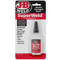 J-B Weld Super Weld High Strength Cyanoacrylate Pro Grade Adhesive 20 Gm