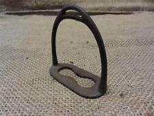 Vintage Cast Iron Stirrup > Antique Old Western Horse Bits Bridles Metal 8568