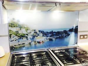 Printed Kitchen Glass Cooker Splashback / Lounge Photo (Any Photo) 900x600mm