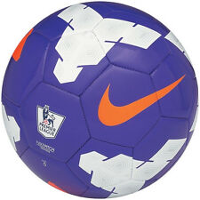 NIKE T90 Total 90 LEAGUE EPL  Soccer Ball  2013 NEW Purple/White/Orange Size 3