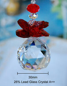 One of Special Edition- Red Angel Crystal Ceiling Fan Pull
