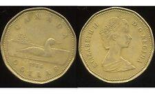 CANADA  1 dollar 1988   ANM