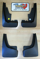 2011-2017 Jeep Patriot Deluxe Molded Splash Guards Mud Flaps Front & Rear Mopar