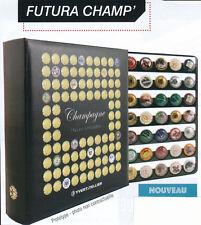 ALBUM FUTURA CHAMP pour Muselets de Champagne avec 5 recharges