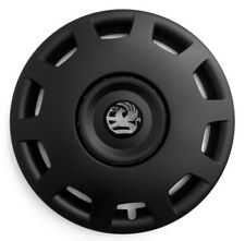 Set of 16'' Wheel trims hubcaps for Vauxhall Vivaro - black