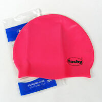 Fashy Silikonkappe Badekappe Silikonhaube Badehaube Silikon 43 pink