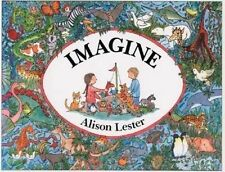 NEW Imagine By Alison Lester Paperback Free Shipping