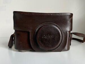 LEICA Camera Leather Case by Ernst LEITZ Wetzlar