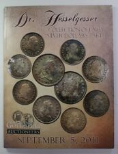 September 5th 2011 Goldberg Auction Catalog Dr. Hesselgesser Collection RSE (A9)