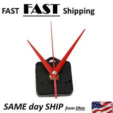 red clock guts - battery operated clock replacement clock AA battery clock part