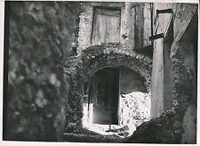 """GILETTE c. 1935 - Vieille Maison  Porte """"Henri""""  Alpes-Maritimes - DIV8680"""