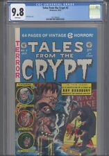 Tales From the Crypt #2 CGC 9.8 1990 Gladstone Jack Davis Cover : New Frame