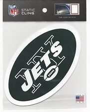 """2014 Static Cling window decal football New York Jets 5"""" x 5"""""""