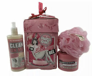 Soap & Glory The Birthday Box Gift Set New