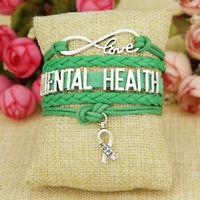 PTSD Anxiety disorder bangle bracelet mental health awareness new gift MH2
