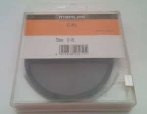 MARUMI C-PL (CIRCULAR POLARIZING), 72mm, FILTER