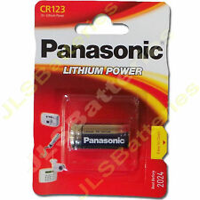 1 x Panasonic Lithium DL123A CR123A 123 Photo Batterie CR17345 DL123A
