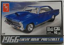 1966 CHEVY NOVA PRO STREET OUTLAWS SS DRAG RACE 66 AMT MODEL KIT