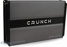 Crunch PD 2000.4 2000W 4-Channel Power Drive Series Class AB Car Amplifier Amp