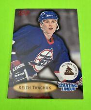 96-97 Fleer Keith Tkachuk Starting Lineup Card - Slu - Jets - Coyotes