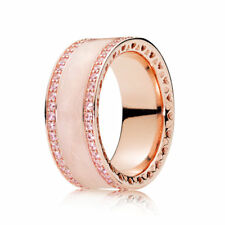 NEW! Authentic Pandora ROSE Hearts Of PANDORA Ring #181024EN95-56 (7.5) $125