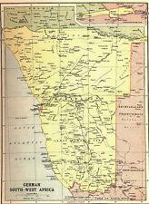 7x5 Photo ww1DB0 World War 1 Map Showing German South West Africa 00 1 1
