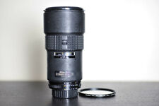 Nikon AF 180mm 2.8 Prime FX Portrait Lens w/ UV Filter!