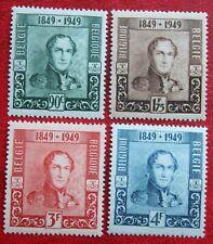 Koning Leopold I 1949 OBP 807-810 (Mi 841-844) POSTFRISMNH ** BELGIE