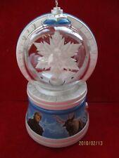 elsa's magic snowflake snow globe Hallmark Keepsake Ornament 2017 bin 8