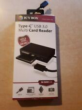 Icy Box Type- C USB 3.0 Multi Card Reader neu