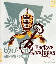 Yt 1562 A ENCLAVE DES PAPES VALREAS   FRANCE  FDC  ENVELOPPE PREMIER JOUR