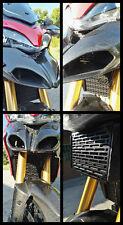 Protezione Griglia Radiatore olio Ducati Multistrada 1200 2010-2014 Inox nero