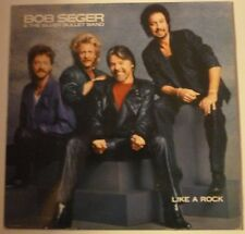Bob Seger And The Silver Bullet Band – Like A Rock  LP 1986