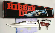 RAMBO III SIGN Licensed! POWER RESCUE LARGE SURVIVAL BOWIE HUNTING KNIFE 17FK414