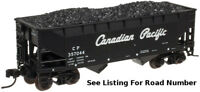 N Atlas 2-Bay Offset Side Hopper w/ Load - Canadian Pacific #CP 357007