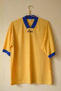 Asics Yellow Vintage Jersey XL