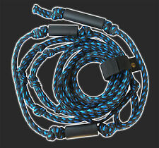 Wakesurfer Tow Rope  Knotted grips